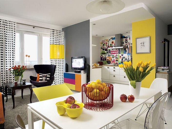 16 ambientes coloridos haus decora o for Colores para apartamentos pequenos