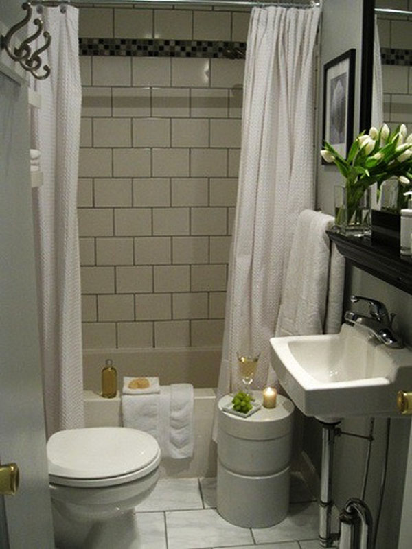 Banheiros Pequenos  Referências -> Banheiro Pequeno Moveis