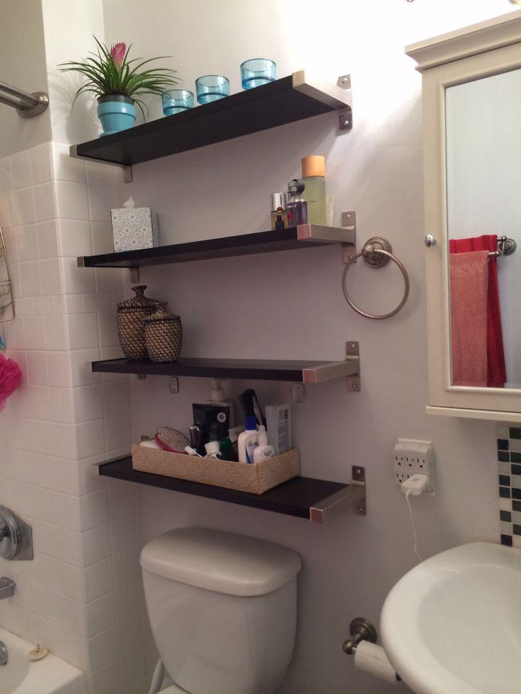Banheiros Pequenos  Referências -> Acessorios Banheiro Pequeno