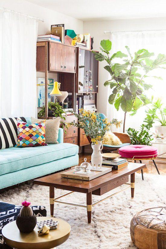 sofa-azul-sala-anos-80