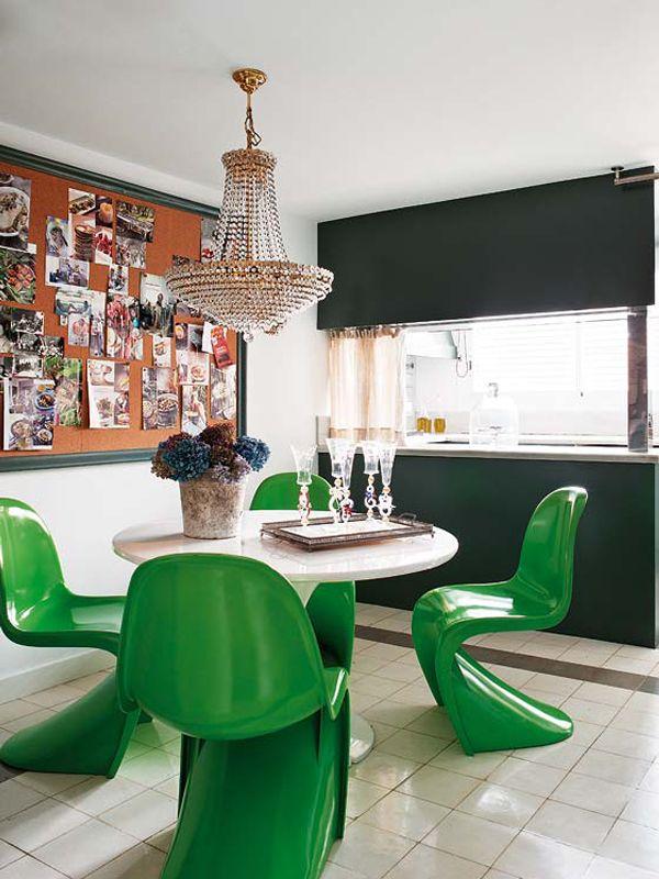 cadeira-panton-verde-sala-jantar
