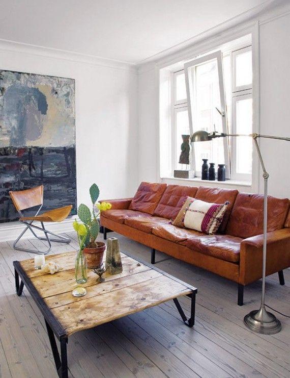 sala-rustica-com-sofa-couro