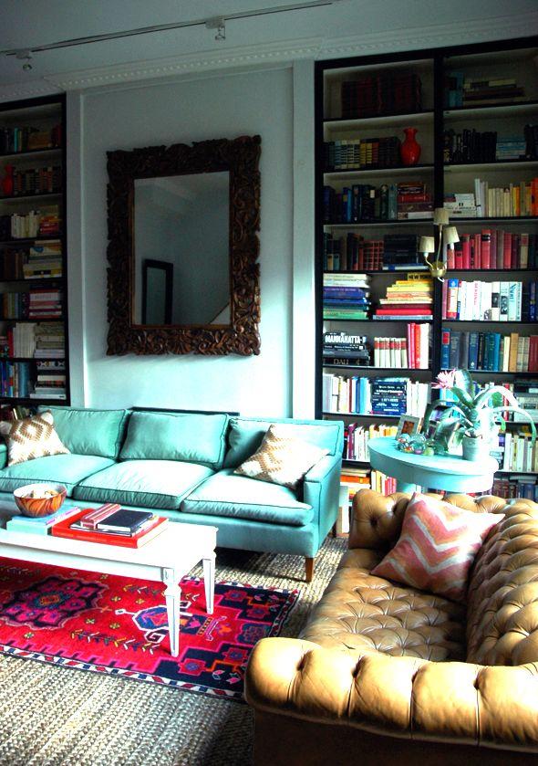 sofa-azul-couro
