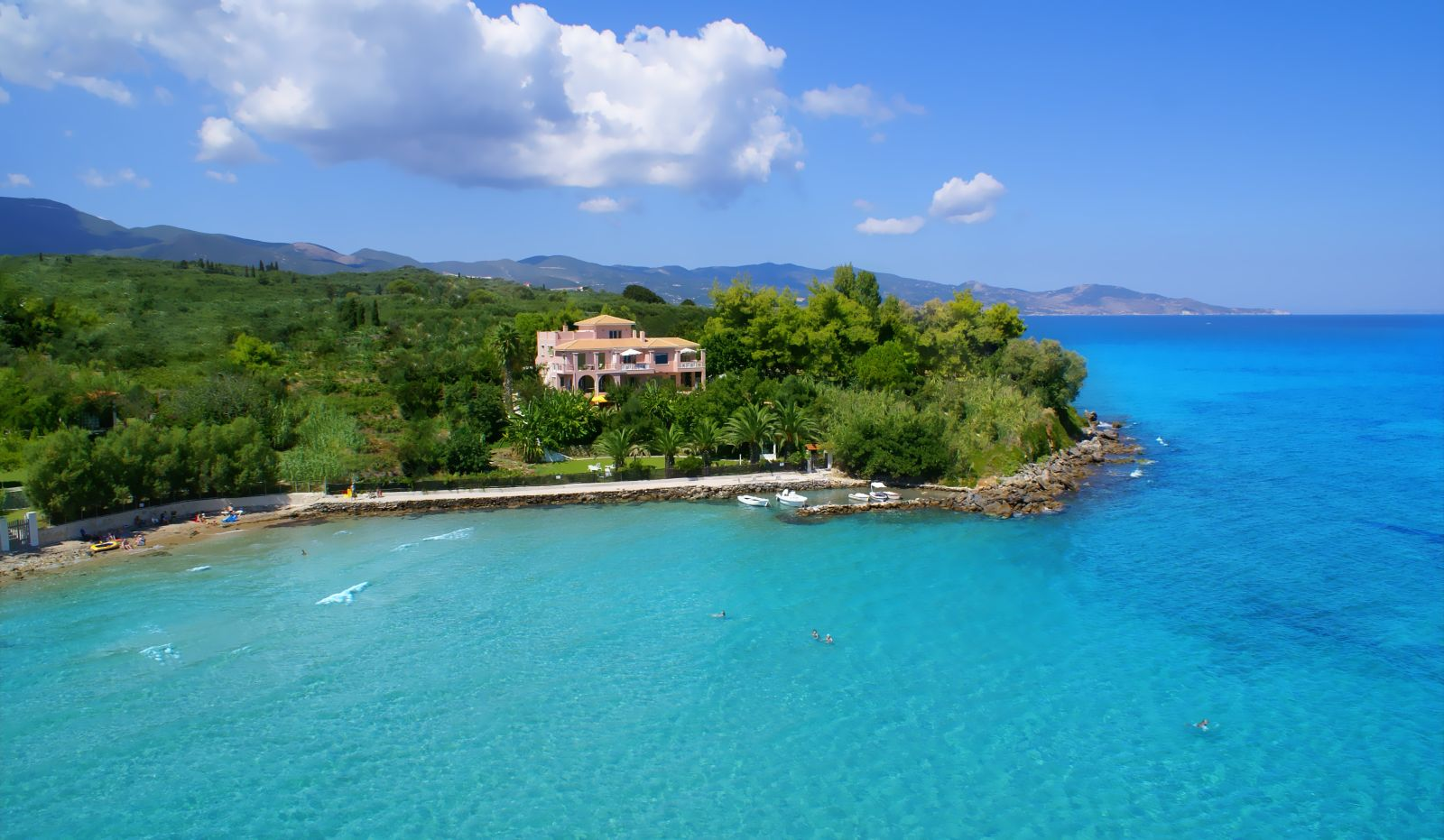 mansão ilha caribe