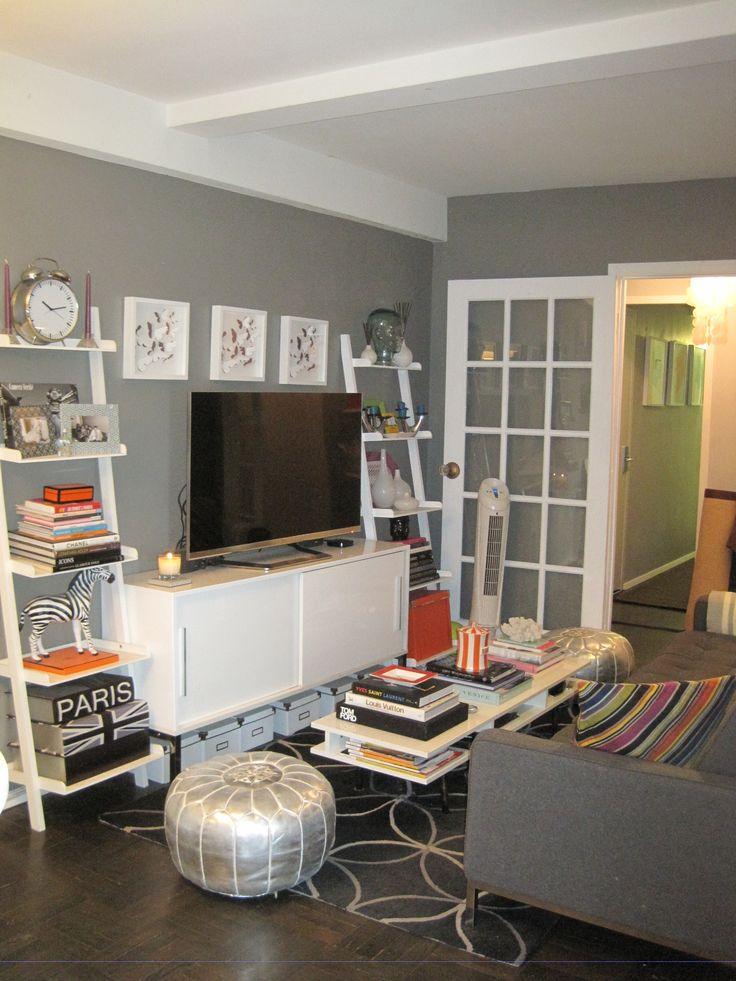 Salas Pequenas  Dicas de decoração  Haus Decoração