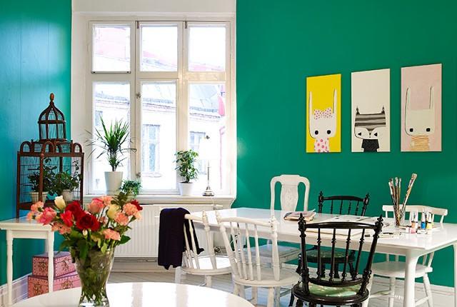 parede-verde-esmeralda
