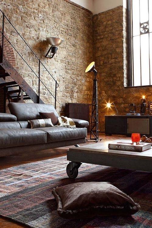 sala-de-estar-rustica-com-moveis-modernos