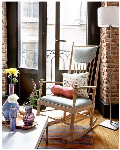 cadeira-de-balanco-moderna-sala-estar