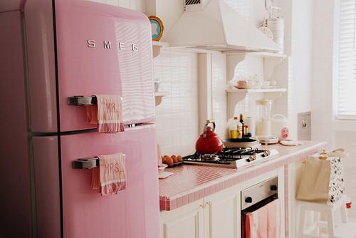 cozinha-vintage-rosa