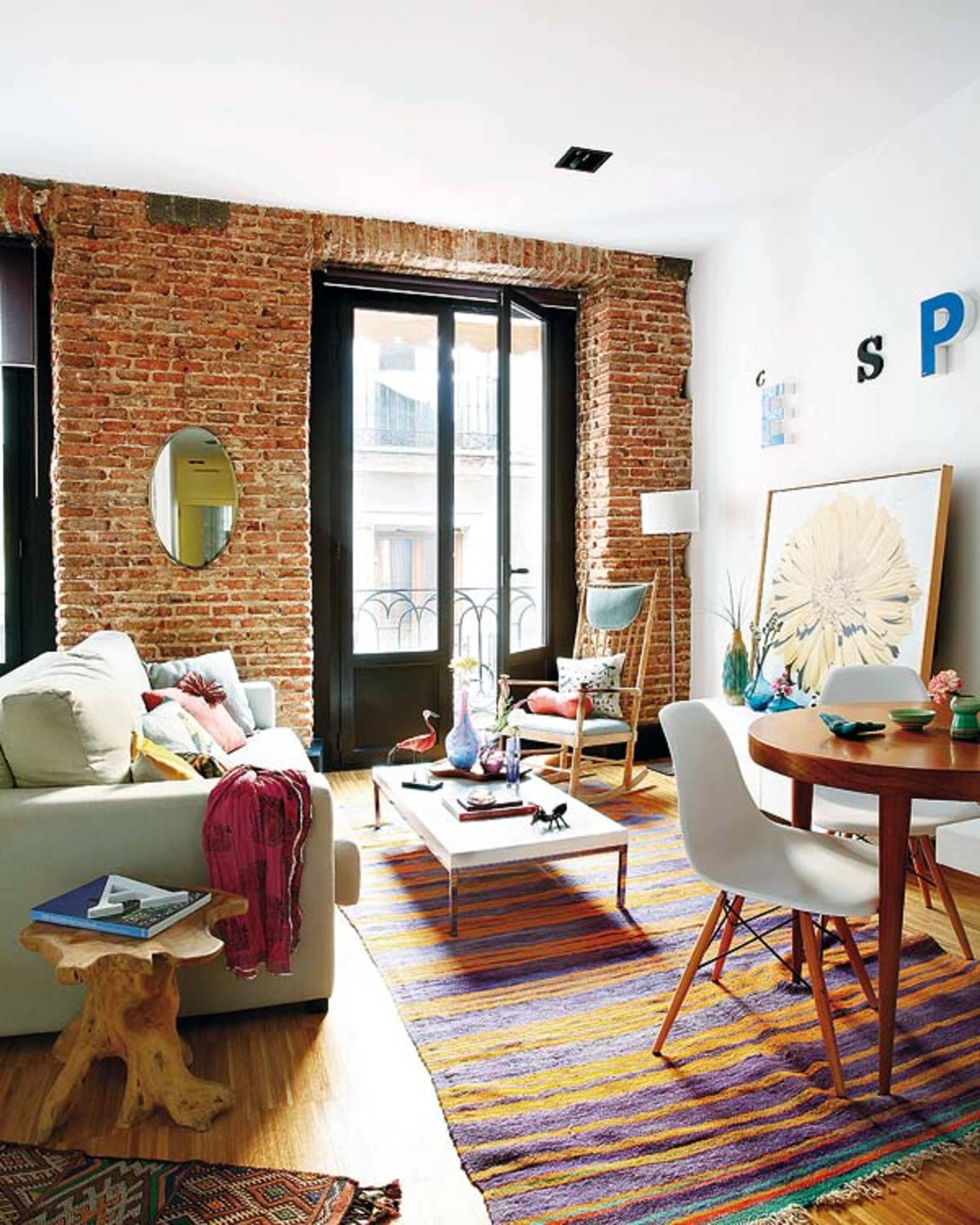 Apartamento pequeno com muita personalidade haus decora o for Pequeno apartamento