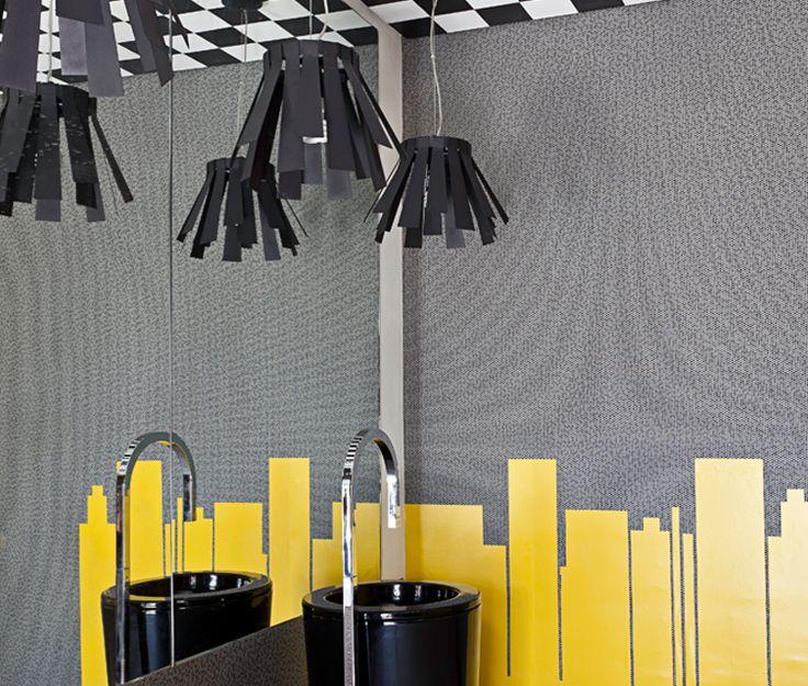 banheiro-criativo-amarelo-cinza