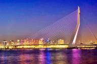 entardecendo-ponte-erasmus-na-holanda