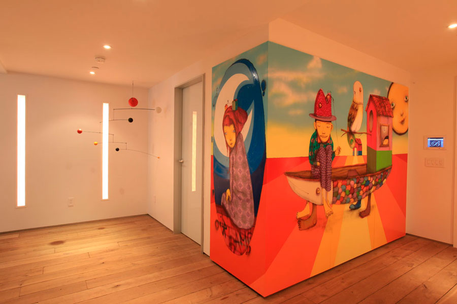 grafite-os-gemeos-parede-sala