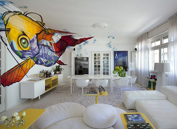 grafite-sala-peixe-paredes