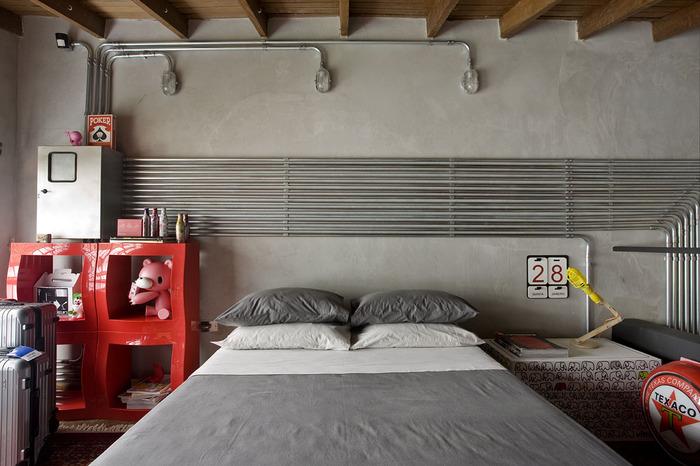 quarto-cinza-estilo-industrial