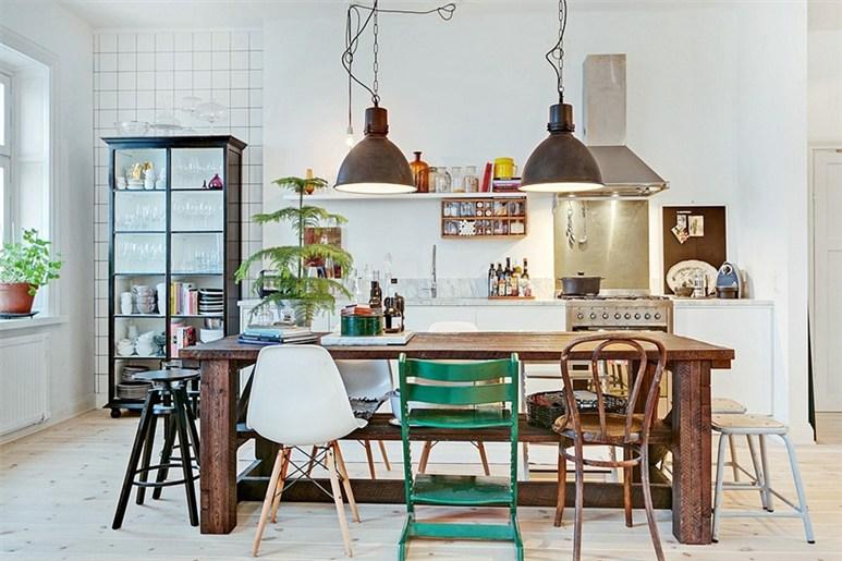sala-de-jantar-cadeiras-diferentes