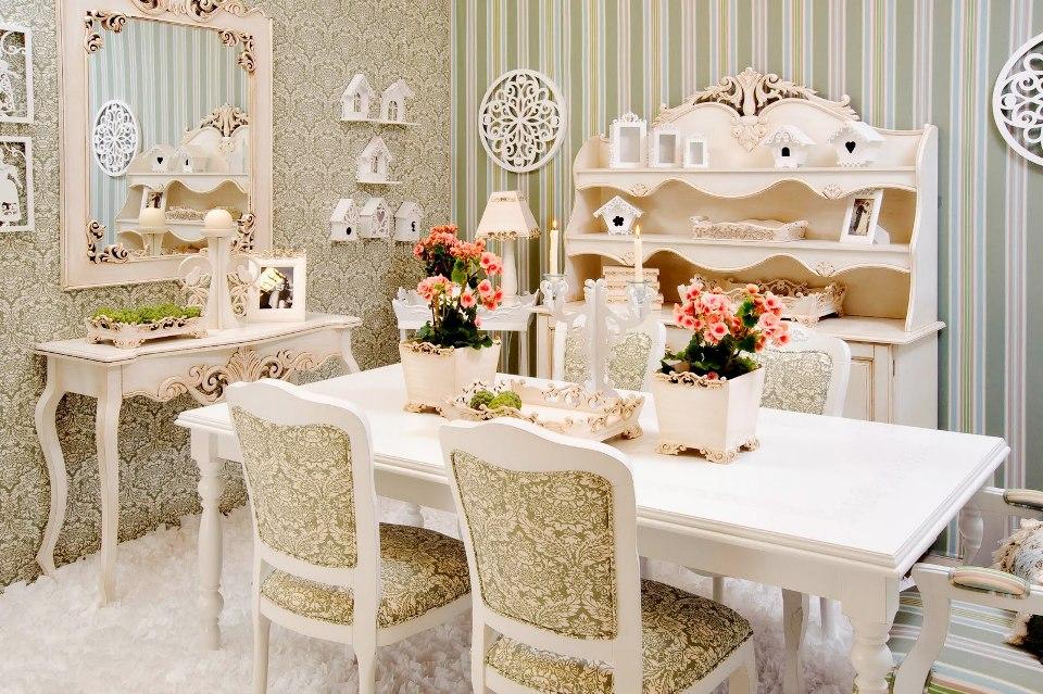 sala-de-jantar-provencal-papel-de-parede