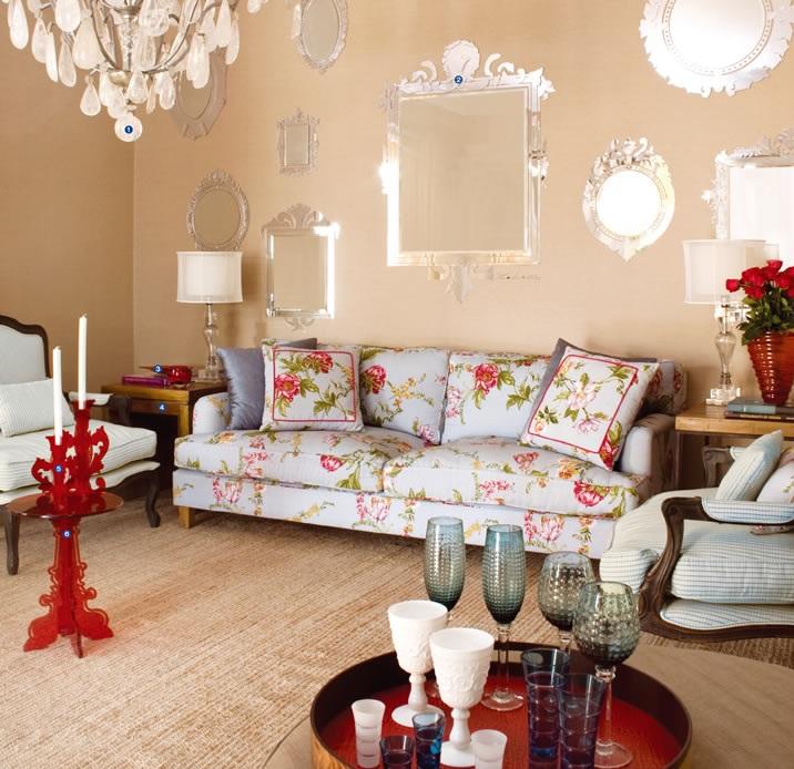 Estilo proven al na decora o haus decora o for Sofa estilo romantico