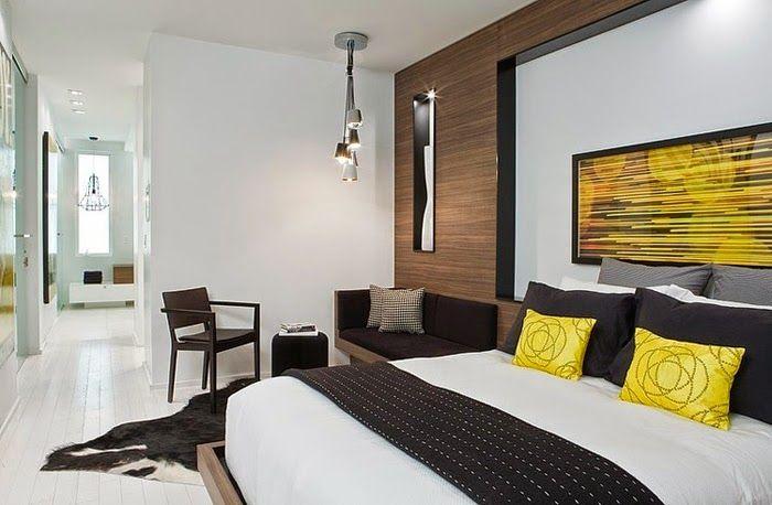 almofadas-amarelas-cama-quarto