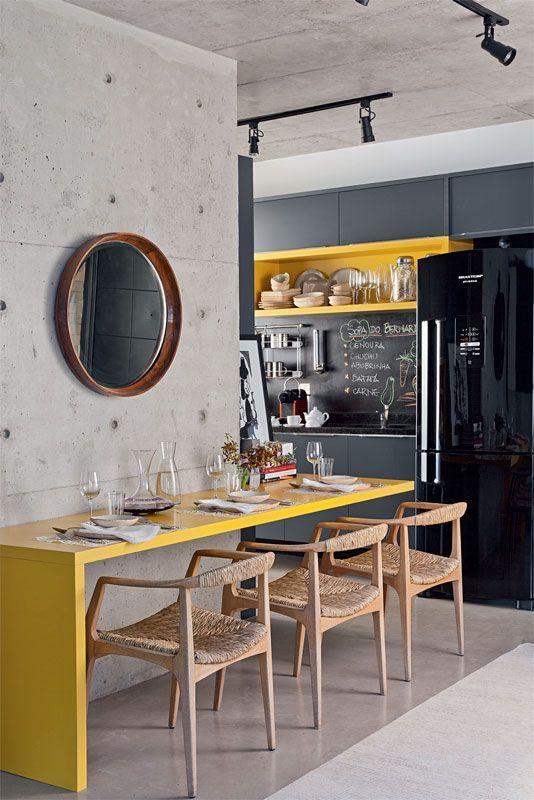 bancada-amarela-cozinha-moderna