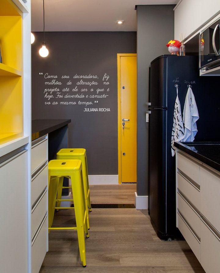 cozinha-banquetas-amarelas