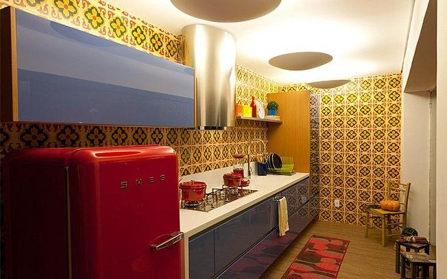 cozinha-estilo-retro-colorida
