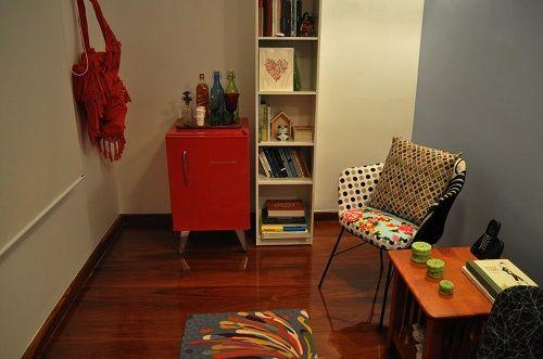 Sala De Tv Com Frigobar Retro ~ Está ai um exemplo de que a moda está bem ligada à decoração