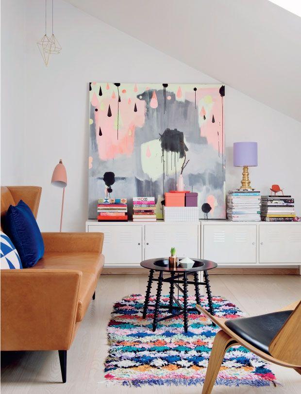 tapete-pequeno-sala-moderna-cores