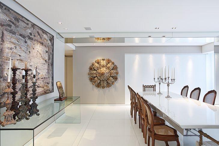 Porta De Vidro Para Sala De Jantar ~ Mescla de modernidade com o aparador feito em vidro e móveis