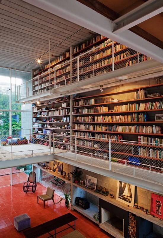 apredao-com-livros-sala