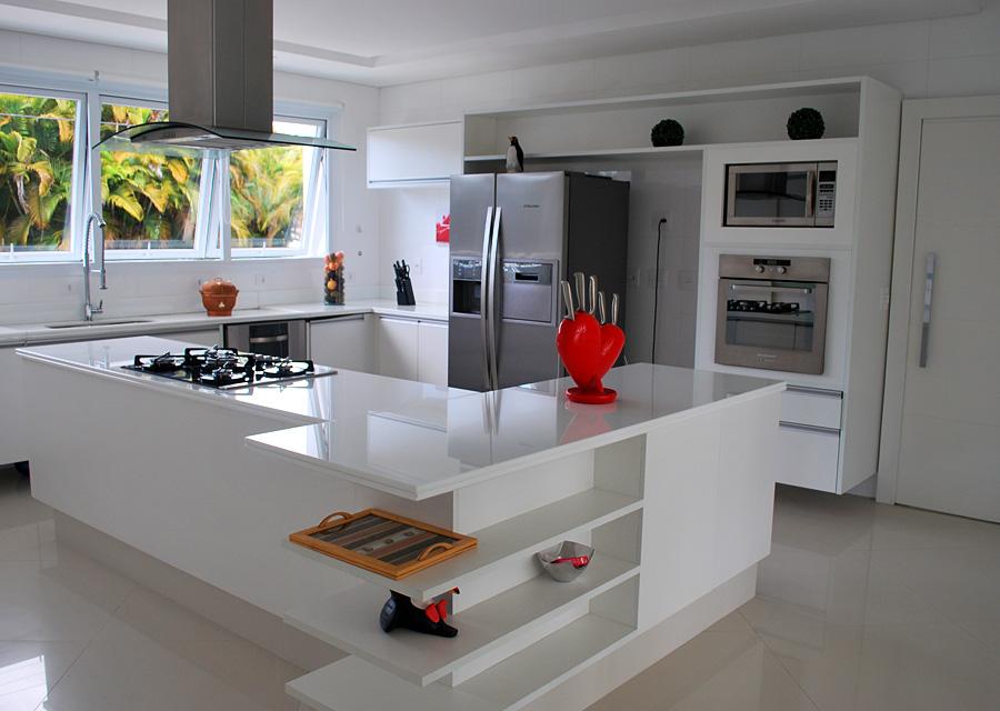Cozinhas com cooktop  11 exemplos  Haus Decoração