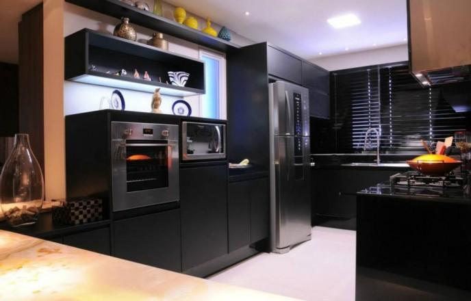 cozinha-preta-escura