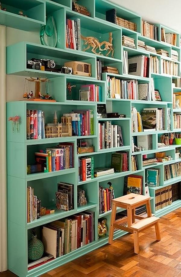 estante-verde-para-livros