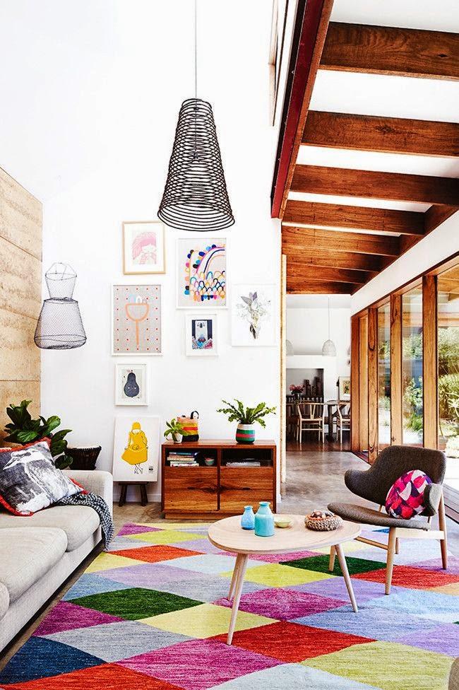 tapete-grande-losangulos-coloridos