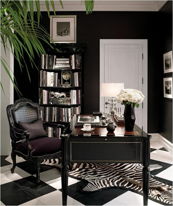 Home Office Designs Living Room Decorating Ideas: Preto Na Decoração - 14 Exemplos