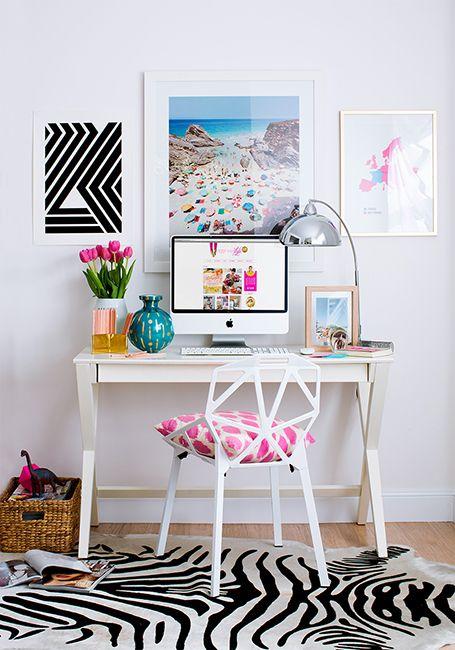 quadros-alinhados-parede-home-office