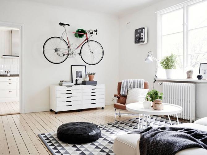 bicicleta-na-parede-da-sala