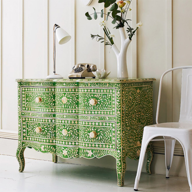 comoda-verde-estilo-indiana