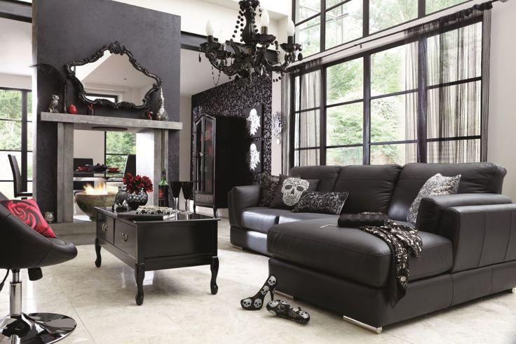 decoracao-dark-sala-de-estar