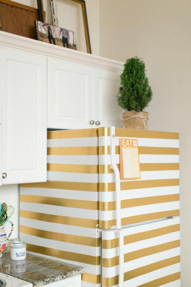 geladeira-decorada-dourado