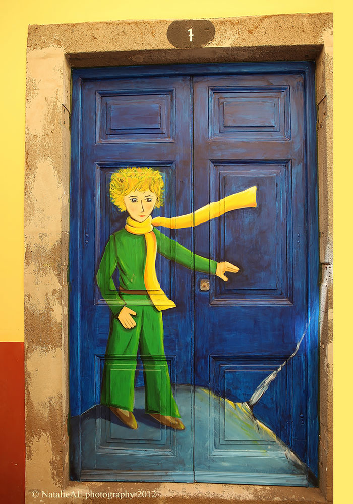 pintura-pequeno-principe-porta