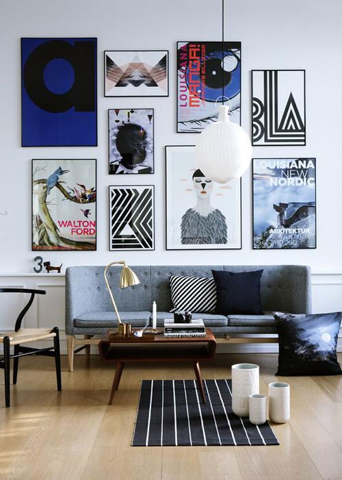 quadros-com-imagens-diferentes-parede-sala