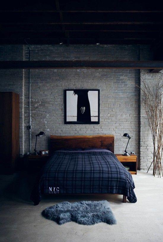 quarto-masculino-tijolo-a-vista
