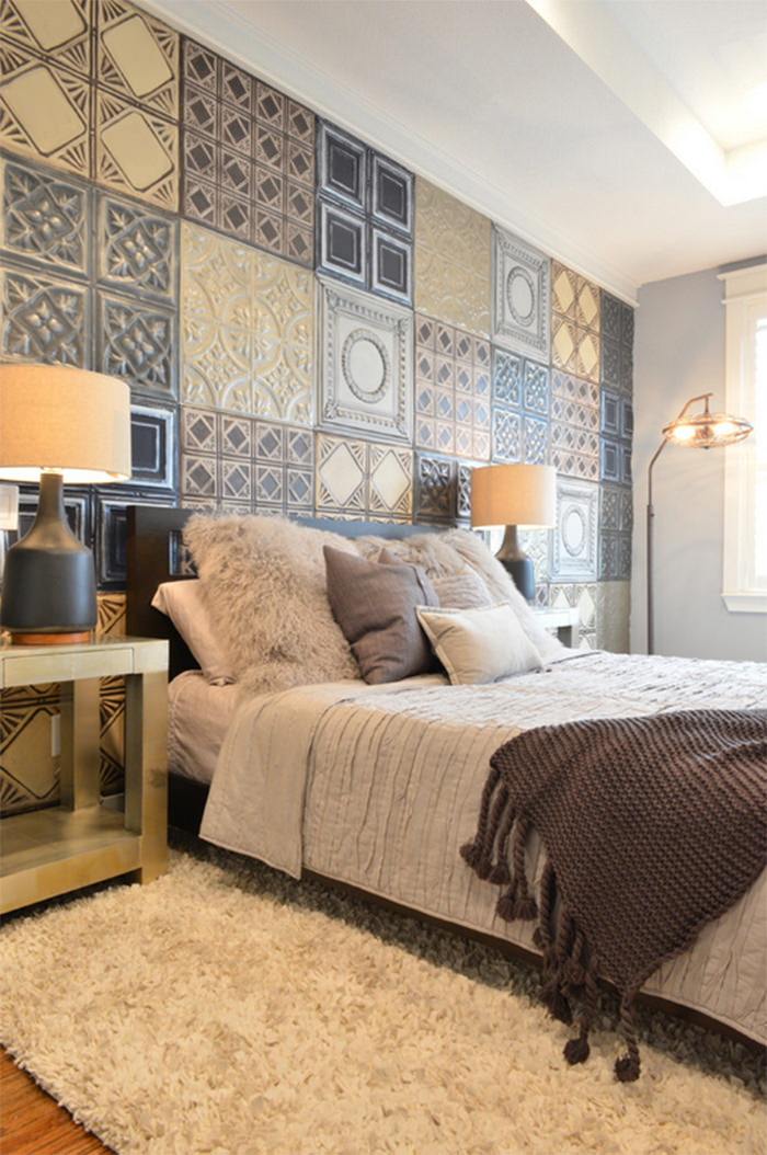 Paredes criativas 17 exemplos haus decora o for Azulejos para paredes dormitorios