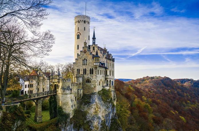 Castelo de Lichtenstein na Alemanha