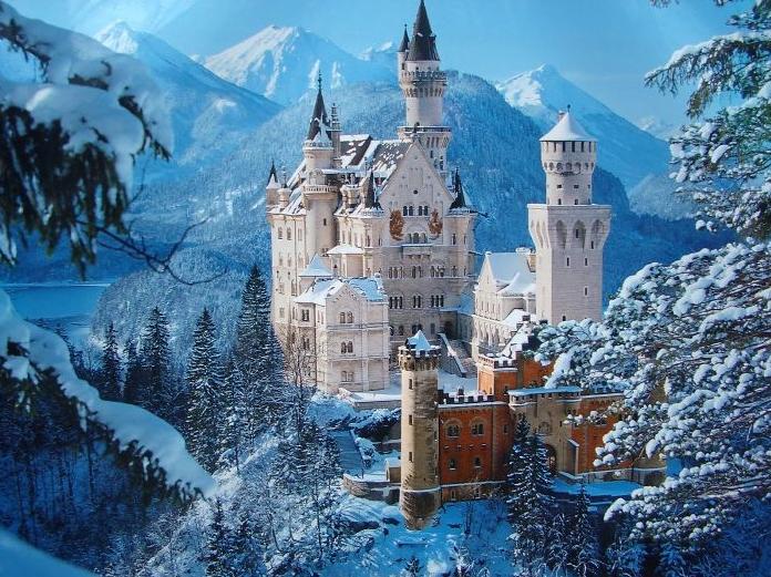 Castelo Neuschwanstein na Alemanha