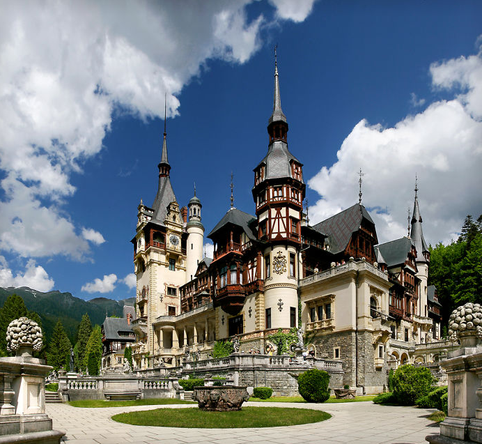 Castelo Peles na Romênia