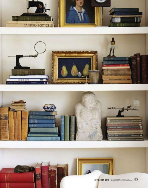 decoracao-classica-estante