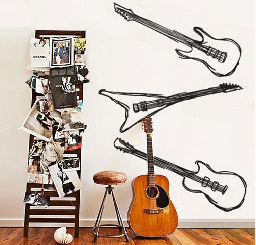 adesivo-de-guitarra-na-parede
