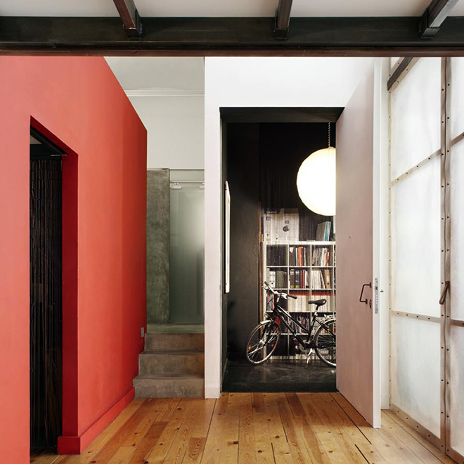 entrada-casa-arquiteta-barcelona